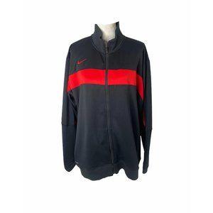 Men's size XL Nike Dri-fit full zip track jacket